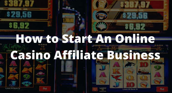 How to start a casino.
