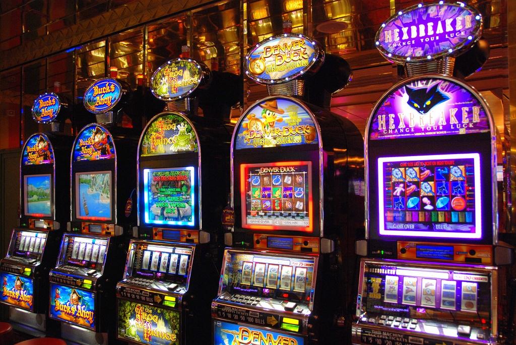 Slots Machines.